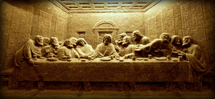 ... The Last Supper   Carved Out Of Salt! Part 90